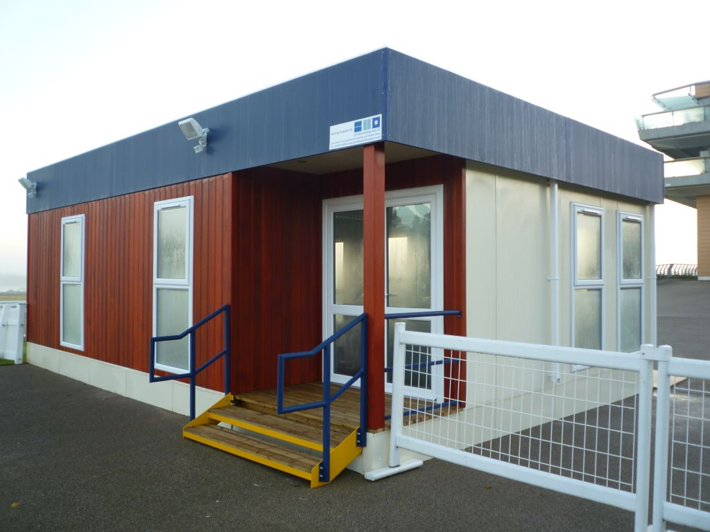 Four benefits of modular buildings for business portable for Portable shed office